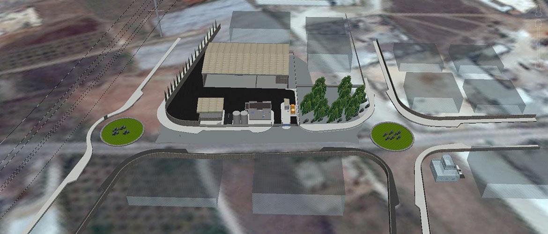 Kalansaua C&D recycling facility